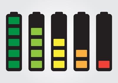 バッテリーインディケーター