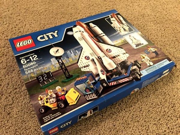 レゴ スペースシャトル箱
