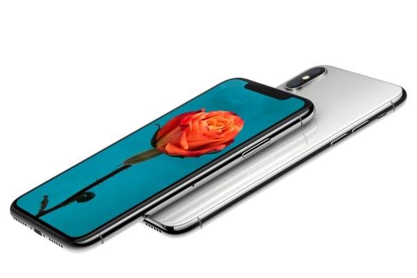 iPhoneXの画面