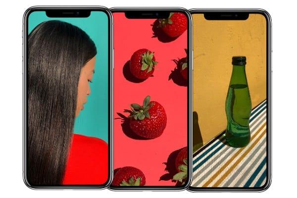iPhoneXの有機ELディスプレ