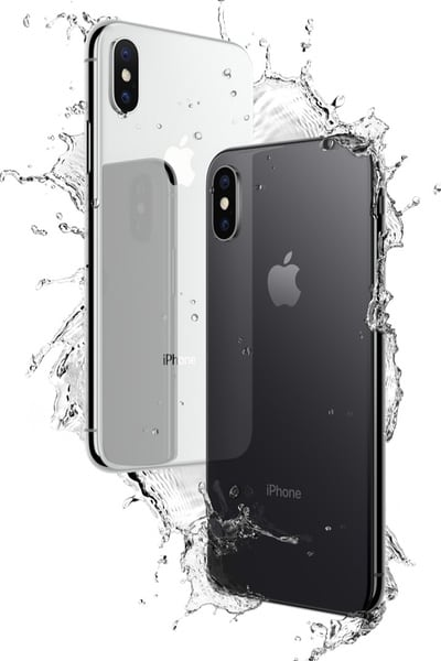 iPhoneX Silver Gray