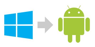 WindowsToAndroid