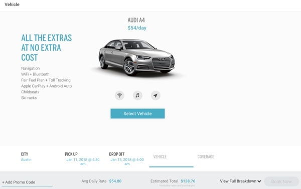 SilverCarBooking4